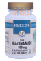 Freeda Vitamins - Niacinamide (B3) 100 mg - 100 Tablets - © DoctorVicks.com