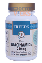 Freeda Vitamins - Niacinamide (B3) 250 mg - 100 Tablets - © DoctorVicks.com