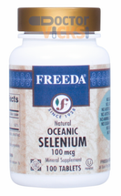 Freeda Vitamins - Oceanic Selenium 100 mcg - 100 Tablets - © DoctorVicks.com