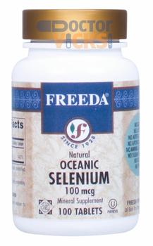 Freeda Vitamins - Oceanic Selenium 100 mcg - 100 Tablets - © DoctorVicks.com