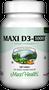 Maxi Health - Maxi Vitamin D3 1000 IU - 90/180 Tablets - DoctorVicks.com