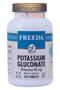 Freeda Vitamins - Potassium Gluconate 80 mg - 250 Tablets - © DoctorVicks.com