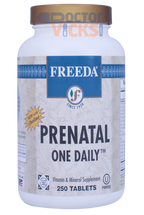 Freeda Vitamins - Prenatal One Daily - 250 Tablets - © DoctorVicks.com