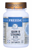 Freeda Vitamins - Quin B Strong B-25 - Vitamin B Complex - 100 Tablets - © DoctorVicks.com
