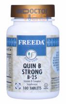 Freeda Vitamins - Quin B Strong B-25 - Vitamin B Complex - 100 Tablets - © DoctorVicks.com