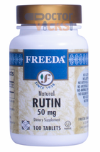 Freeda Vitamins - Rutin 50 mg - 100 Tablets - © DoctorVicks.com
