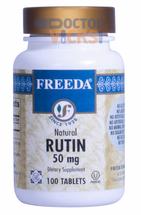 Freeda Vitamins - Rutin 50 mg - 100 Tablets - © DoctorVicks.com