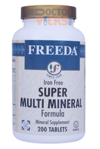 Freeda Vitamins - Super Multi-Minerals No Iron - 200 Tablets - © DoctorVicks.com