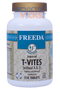Freeda Vitamins - T-Vites - Multivitamin & Mineral No Vitamin A or E - 250 Tablets - © DoctorVicks.com