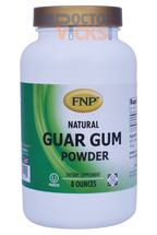 Freeda Vitamins - FNP - Guar Gum Powder - 8 oz Powder - © DoctorVicks.com