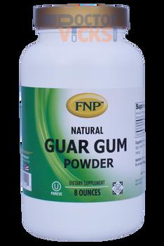 Freeda Vitamins - FNP - Guar Gum Powder - 8 oz Powder - © DoctorVicks.com