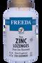 Freeda Vitamins - Zinc Lozenges (Zinc Gluconate) 30 mg - Orange Flavor - 250 Lozenges - © DoctorVicks.com