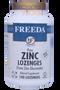 Freeda Vitamins - Zinc Lozenges (Zinc Gluconate) 30 mg - Orange Flavor - 100 Lozenges - © DoctorVicks.com