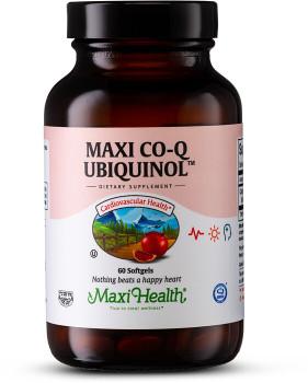 Maxi Health - Maxi Co Q Ubiquinol 100 mg - 60 Liquid MaxiCaps - DoctorVicks.com