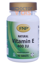 Freeda Vitamins - FNP - Vitamin E 400 IU - 90 Tablets - © DoctorVicks.com