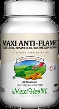 Maxi Health - Maxi Anti-Flame - Curcumin, Boswellia, Bromelain & MSM - 60 MaxiCaps - DoctorVicks.com