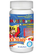 Uncle Moishy Vitamins - Multivitamin & Mineral No Iron - Assorted Flavors - 120 Jellies - © DoctorVicks.com