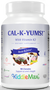 Maxi Health - KiddieMax - Cal-K-Yums! With Vitamin K2 - Strawberry Flavor - 90 Chewies - DoctorVicks.com