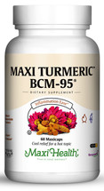 Maxi Health - Maxi Turmeric BCM-95 - Kosher Curcumin 500 mg - 60 MaxiCaps - DoctorVicks.com