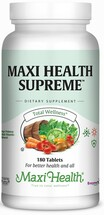 Maxi Health - Maxi Health Supreme - High Strength Multivitamin & Mineral - 60/120/180/360 - DoctorVicks.com
