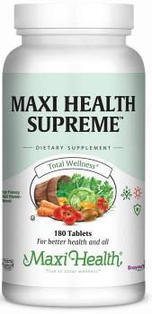 Maxi Health - Maxi Health Supreme - High Strength Multivitamin & Mineral - 60/120/180/360 - DoctorVicks.com