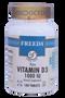 Freeda Vitamins - Vitamin D3 1000 IU - 100 Tablets - © DoctorVicks.com