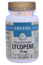 Freeda Vitamins - Lycopene 10 mg - 100 Tablets - © DoctorVicks.com