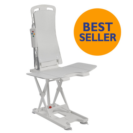 Bellavita Auto Bath Lift Reclining Bath Tub Chair Extended High Raise  sc 1 st  MyCareHomeMedical.com & Bellavita Auto Bath Tub Chair Seat Lift | Bath Lift for Seniors ...