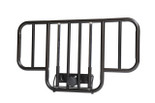 No Gap Half  Side Bed Rails, Brown