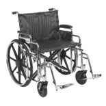 Sentra Bariatric Heavy Duty XL Wheelchair,  Desk Arms, Swinging Footrests