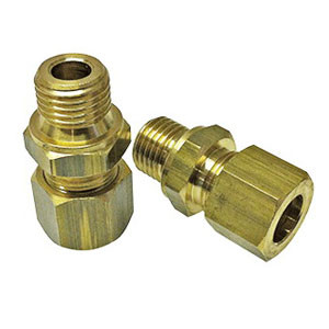 """Hose Fitting Package for Old Style Straight Tubing, 1/4"""" Barb"""