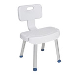 Bath Shower Chair with Folding Back