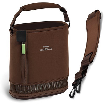 SimplyGo Mini Carry Bag with Strap Brown (1119897)