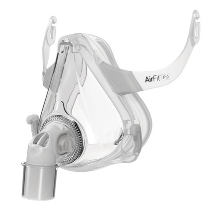 AirFit™ F10 Full Face Mask Frame System without Headgear (XS-L)