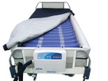 "Med Aire 8"" Defined Perimeter Low Air Loss Mattress Replacement System with Low Pressure Alarm - 14029dp 