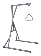 Bariatric Heavy Duty Free Standing Silver Vein Trapeze Bar