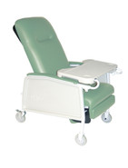 3 Position Heavy Duty Bariatric Jade Geri Chair Recliner - d574ew-j| Free Shipping, Quick Delivery