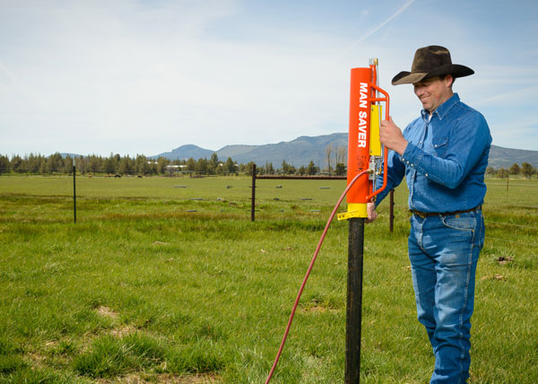 rohrer inc automatic tpost driver and fence supplies