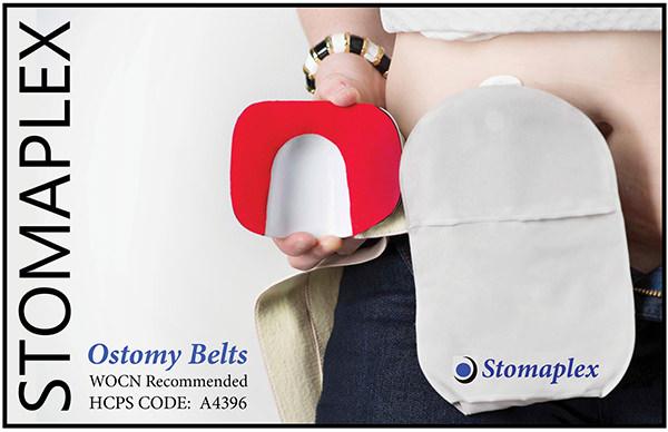 Stomaplex Ostomy Belt with Coloplast SenSura Mio - Ostomy Girl