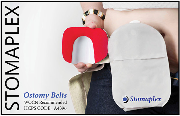 Stomaplex Ostomy Belt with Coloplast SenSura Mio - Ostomy Girl