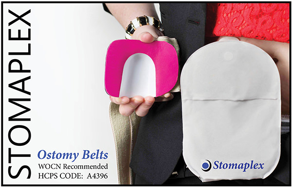 Stomaplex Ostomy Belt with Coloplast SenSura Mio - Ostomy Belt Women