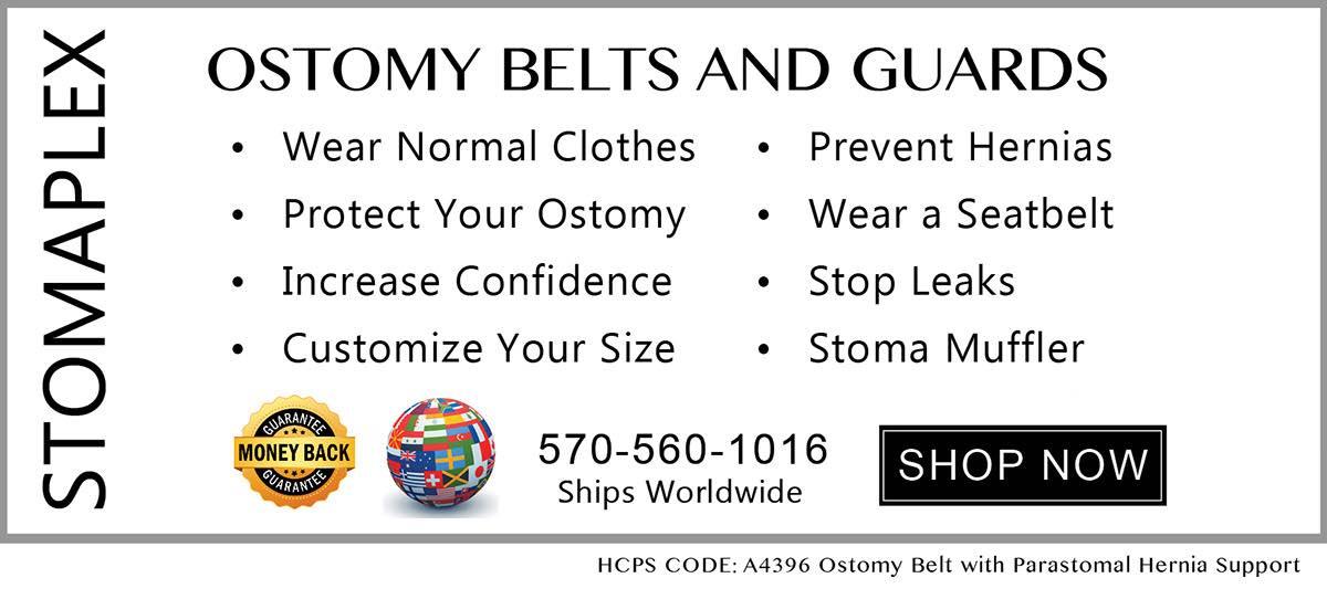 Stomaplex Ostomy Belt and Stomaplex Stoma Guard