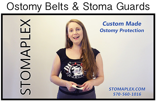 Women with an ostomy will love the customization that comes when you order a Stomaplex ostomy belt.  The stoma guard will protect the ostomy.