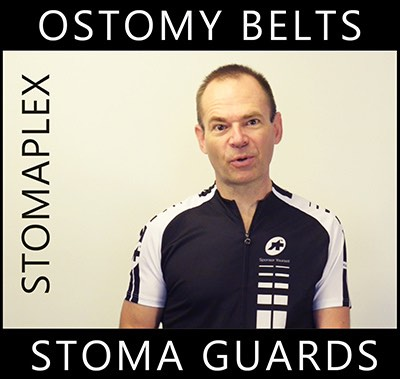 The Stomaplex ostomy sports belt is ideal the man with an ostomy that needs to live an active life.  This sports designed stoma guard in nonabsorbent and very tough as any ostomy athlete is. In playing sports with an ostomy it is very important to protect your stoma from contact