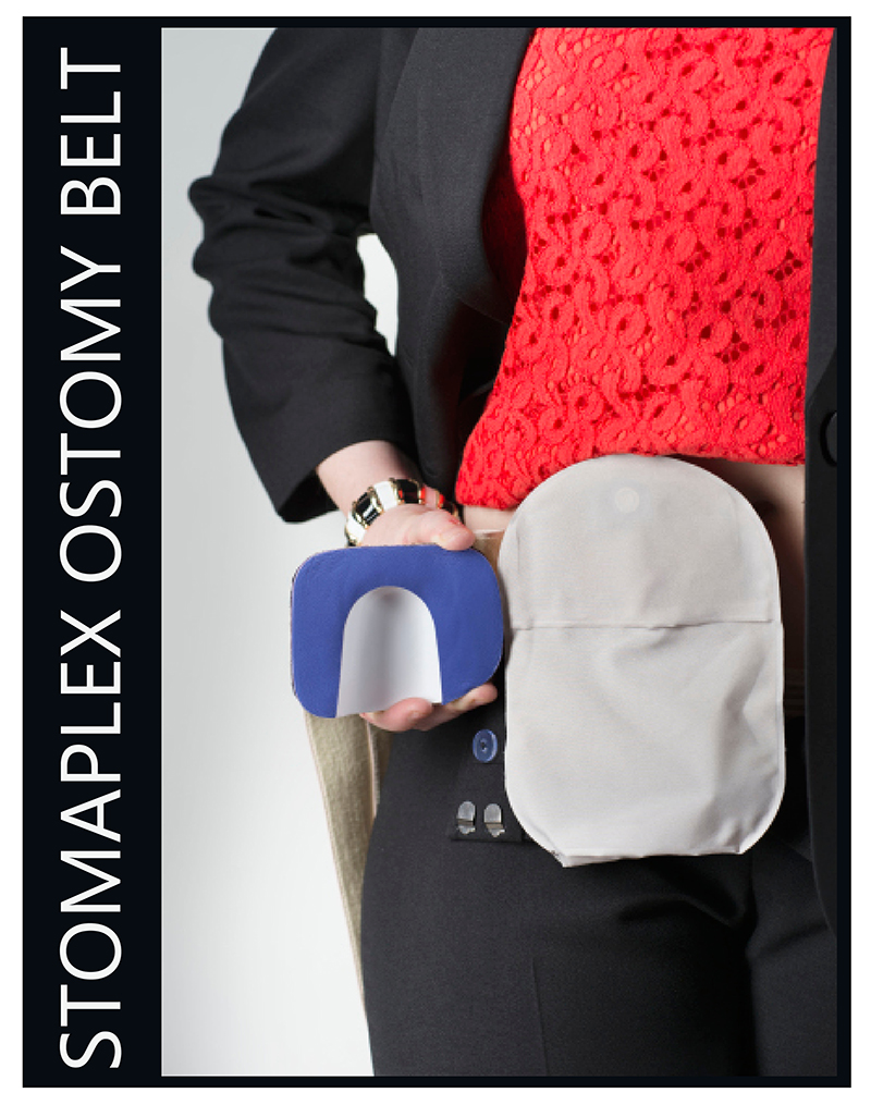 Ostomy Belt for Women and Girls with an Ostomy Men: Women need to wear an ostomy belt with a stoma guard to help them wear normal clothes.