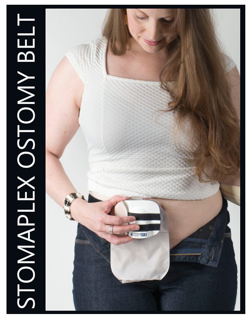 Ostomy Belt Women and Girls with a Stoma: Women need to wear an ostomy belt to protect their stoma.