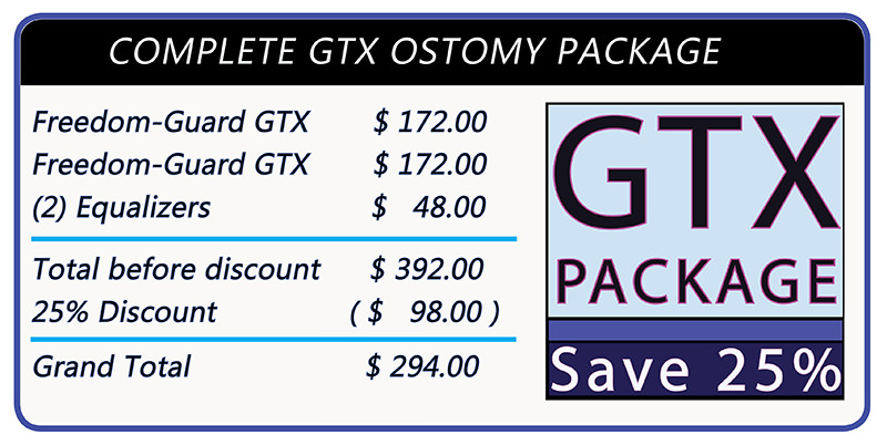 Stomaplex Ostomy Belt and Stoma Guard: Save 25% when you order two Freedom-Guard GTX Ostomy Belt and Stoma Guard together.