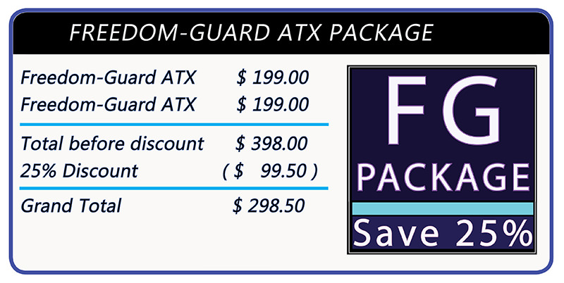 Stomaplex Ostomy Belt and Stoma Guard: Save 25% when you order two Freedom-Guard-Comfort ATX Ostomy Belts and Stoma Guards together.