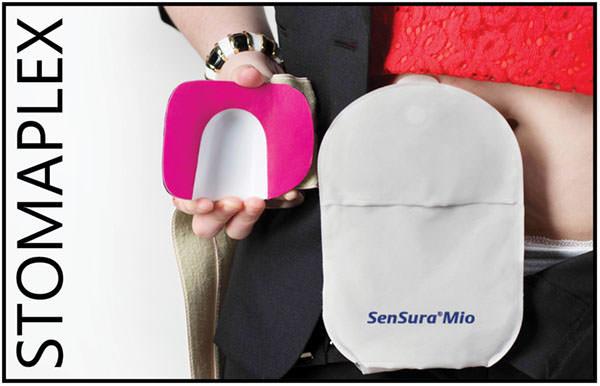 Stomaplex Ostomy Belt with Coloplast SenSura Mio - Ostomy Belt Men