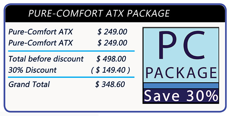 Stomaplex Ostomy Belt and Stoma Guard: Save 25% when you order two Pure-Comfort ATX Ostomy Belts and Stoma Guards together.